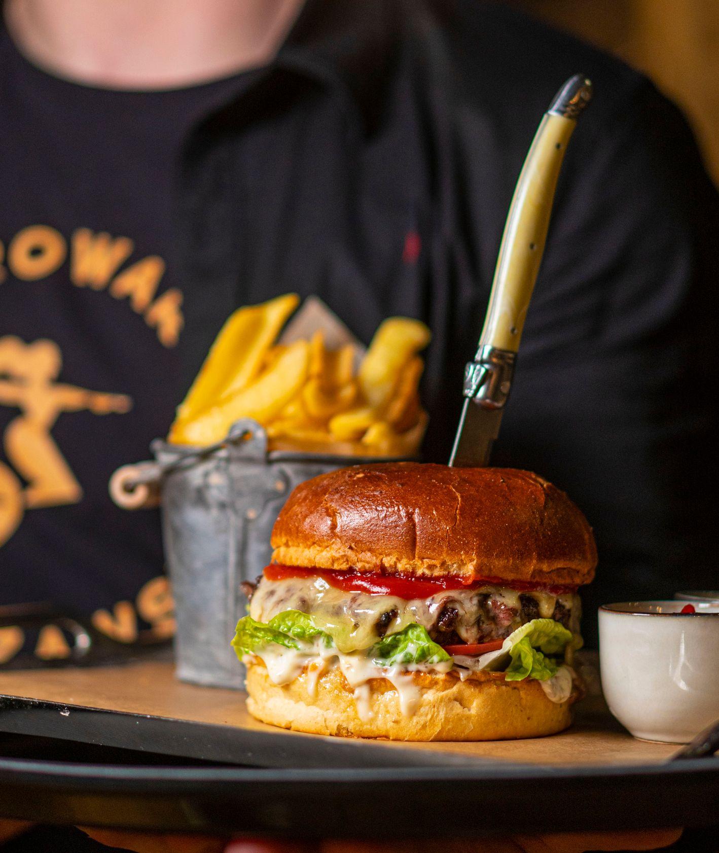 Hamburger w Browarze Warszawskim