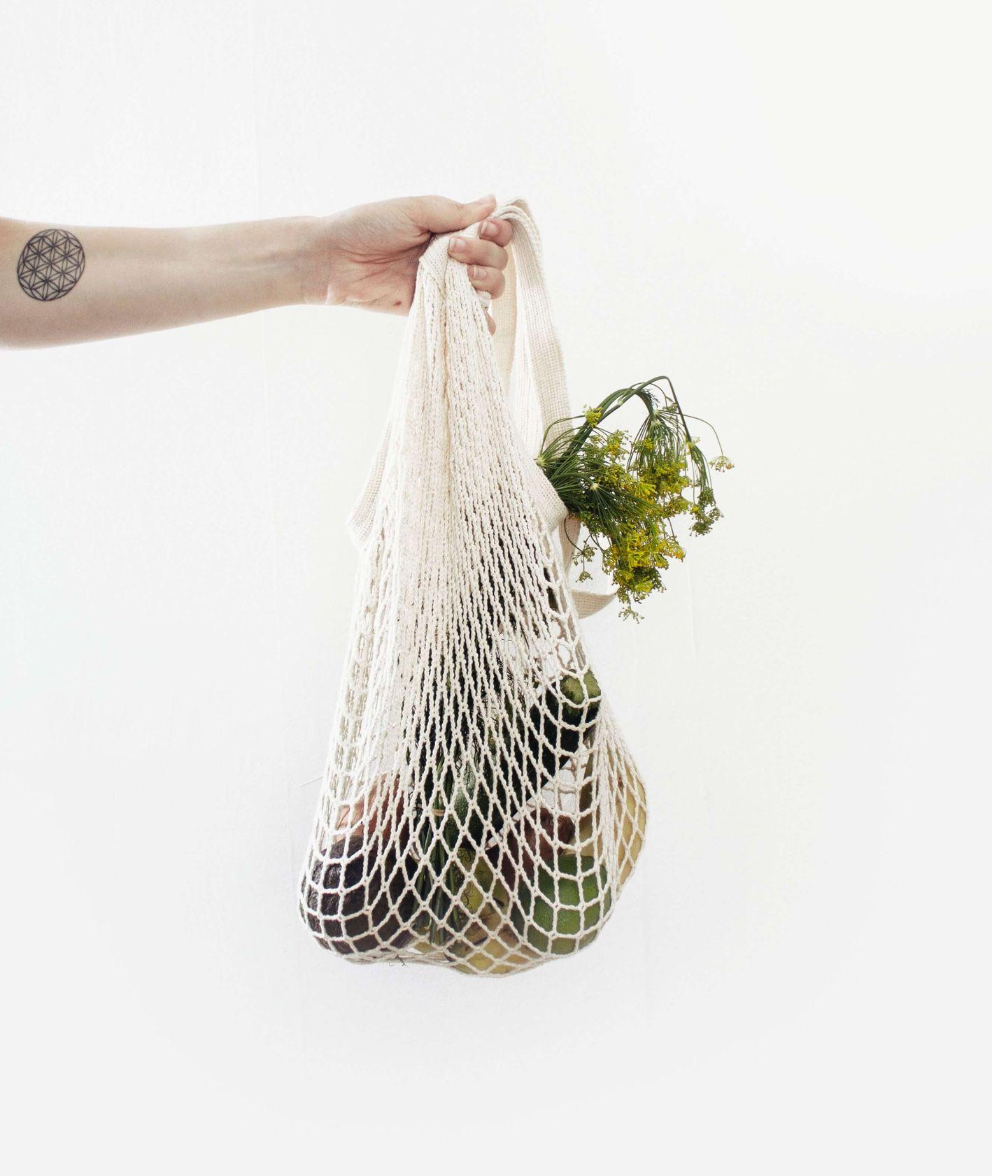 Worek na warzywa z materiału (fot. Sylvie Tittel)