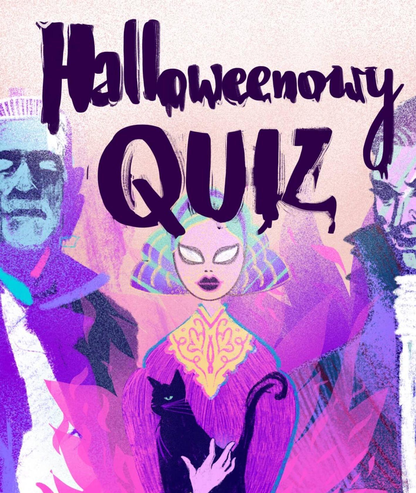 W o przebrać się na halloween (ilustracja - Martyna Cybuch)