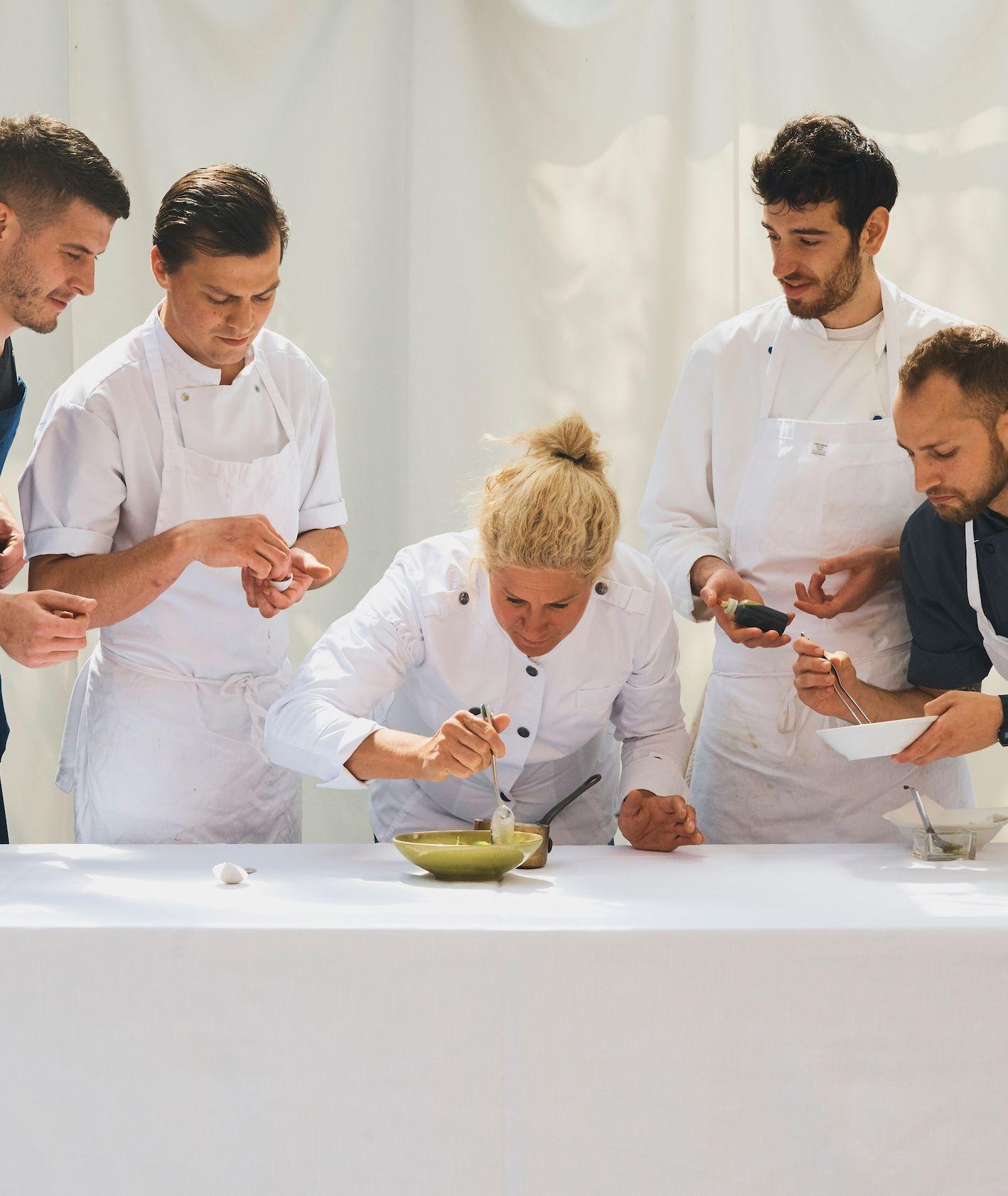 Ana Roš, szef kuchni słoweńskiej restauracji Hiša Franko(fot. Benjamin Schmuck)