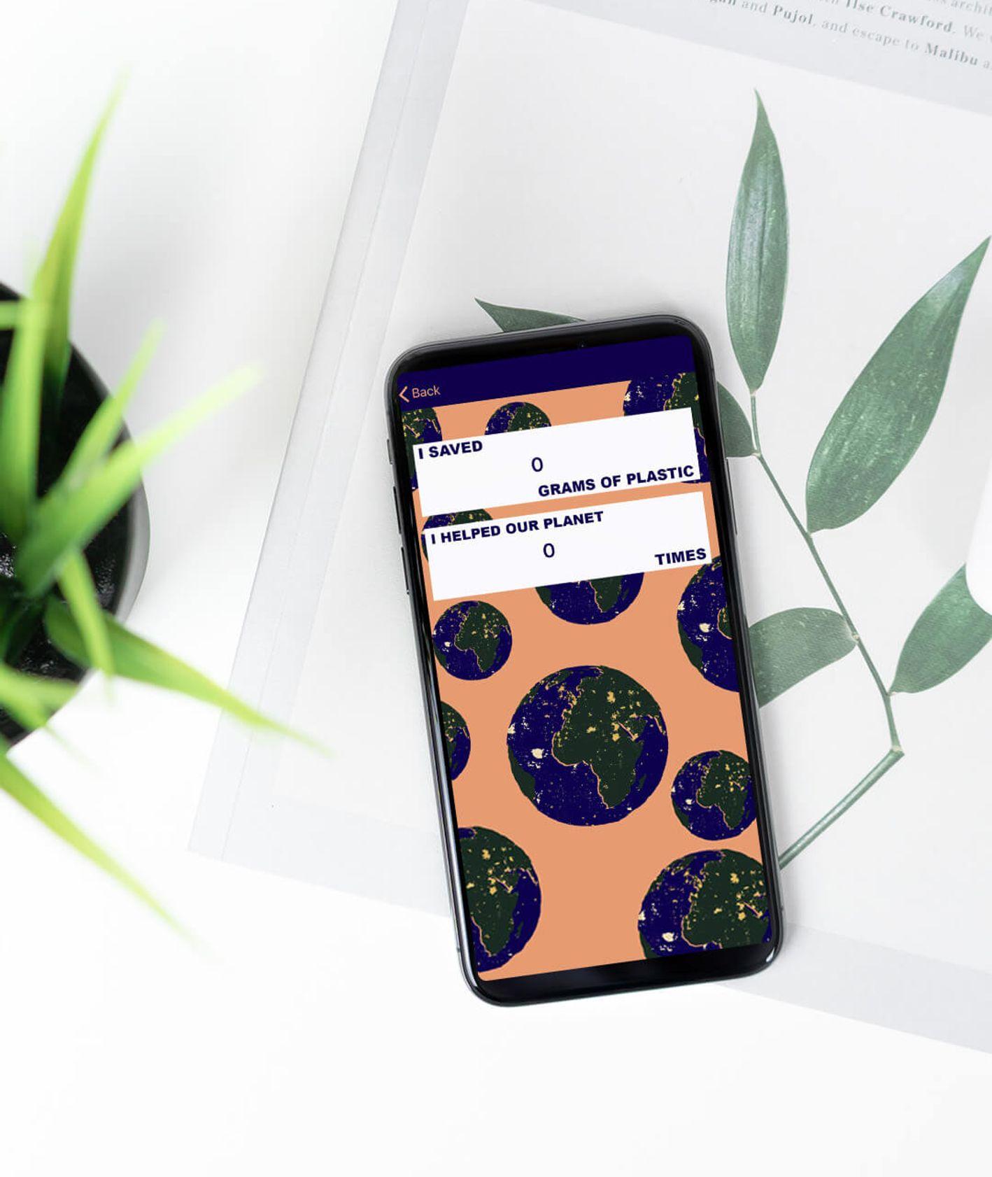 Aplikacja ekologiczna Zero Waste Hero