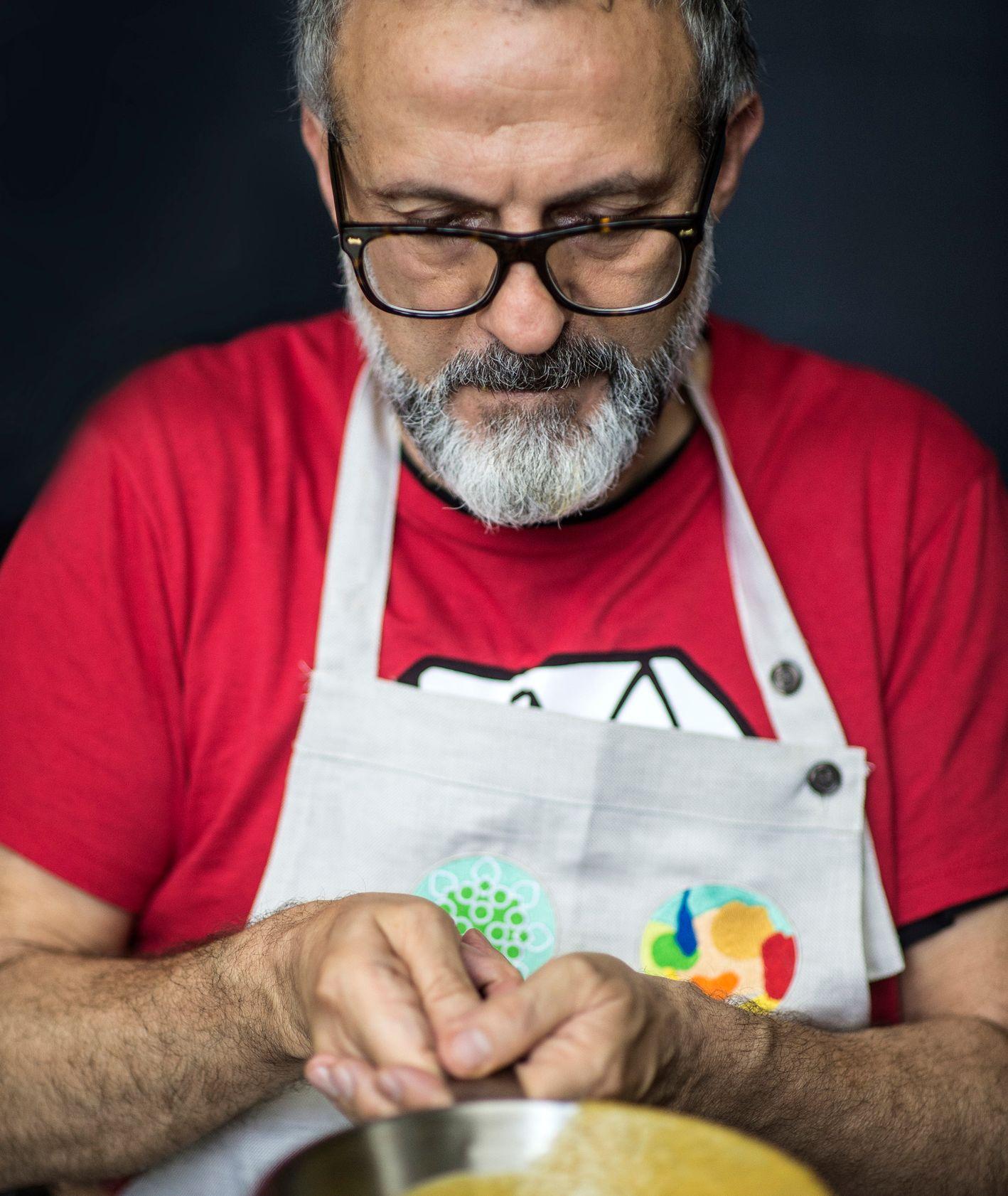 Massimo Bottura (fot. Simon Owen Red Photographic)