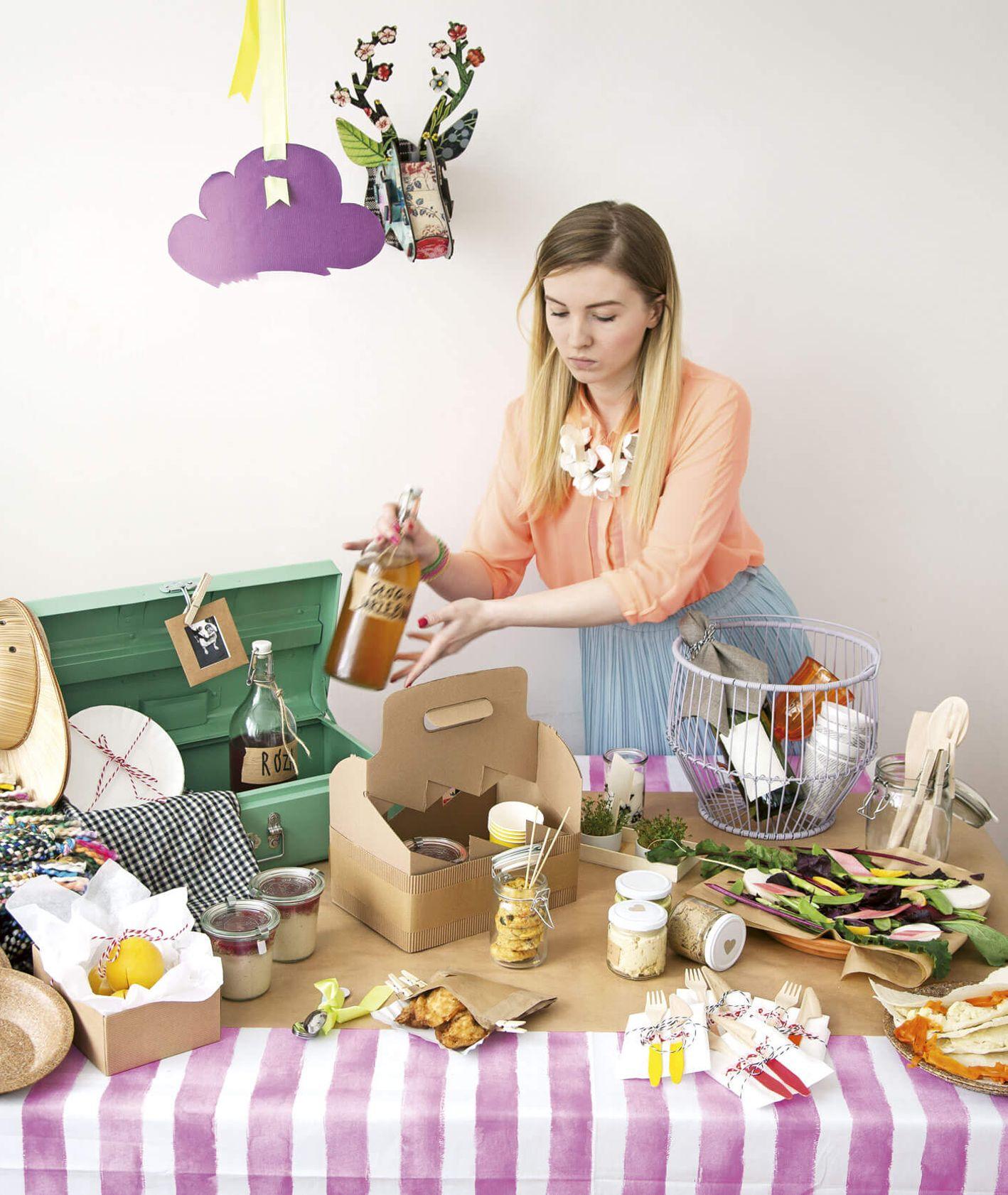 Przepisy na piknik dla 4 osób