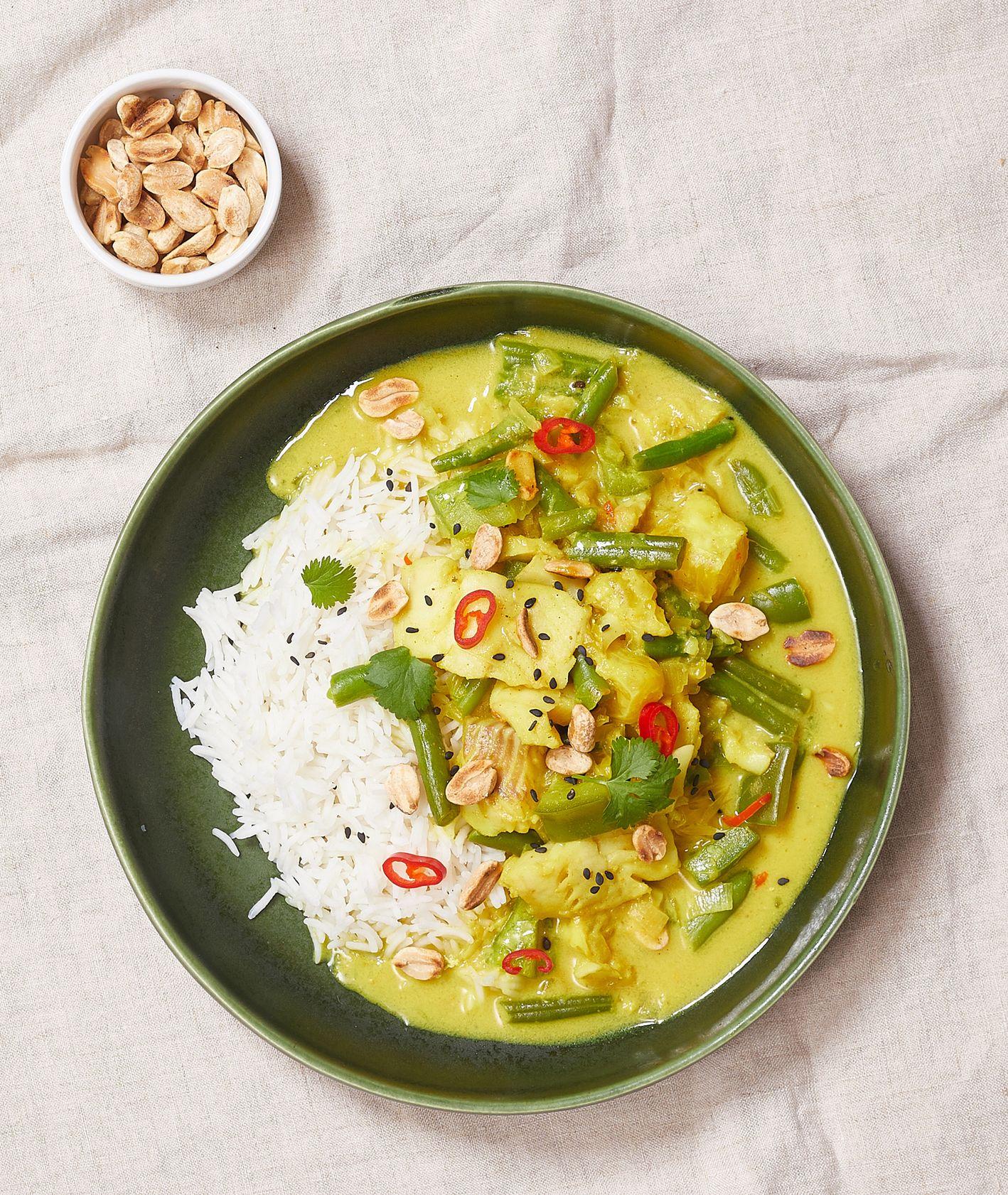 Jak zrobić zielone curry z fasolką i rybą (fot. Maciek Niemojewski)