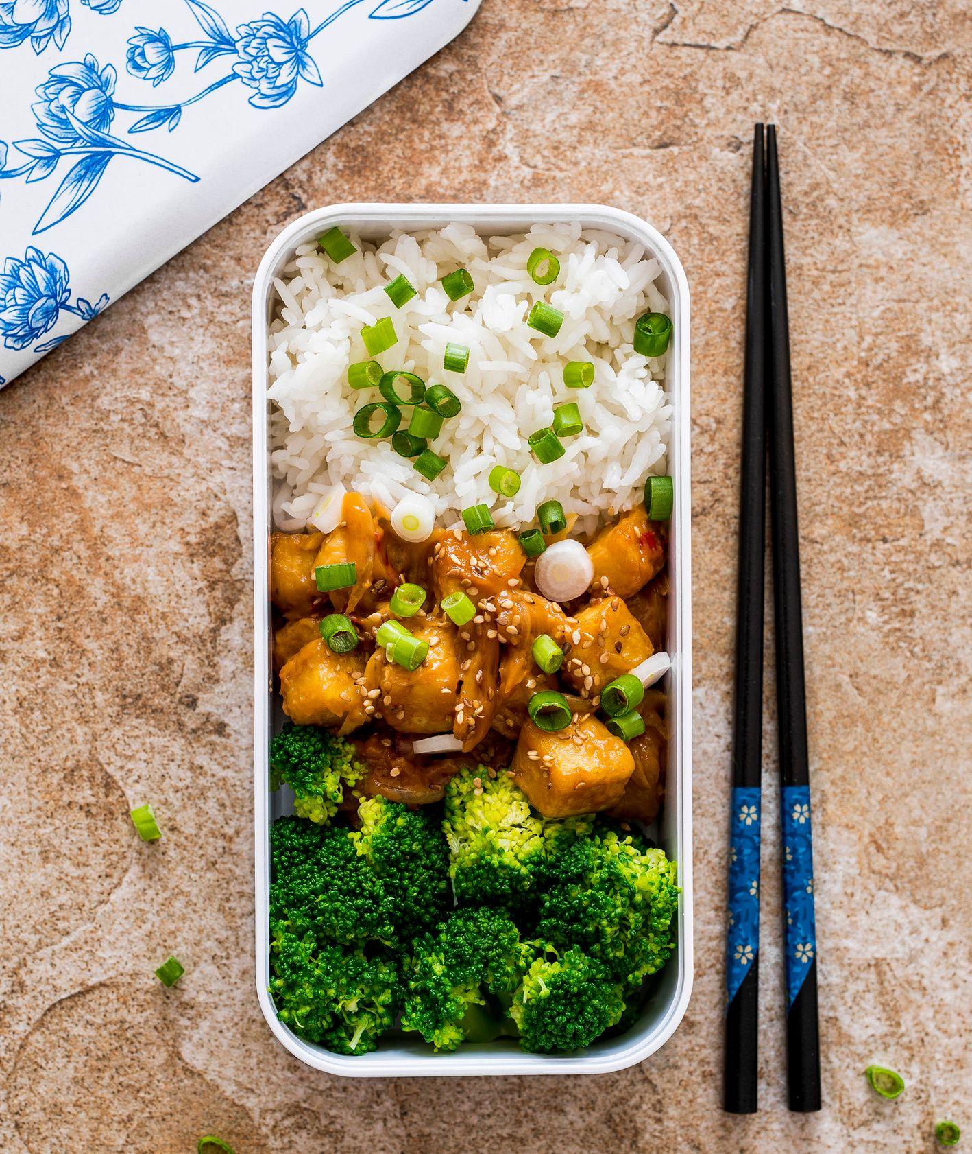 Marynowane tofu z książki lunchbox na każdy dzień (fot. Paulina Czyżewska)