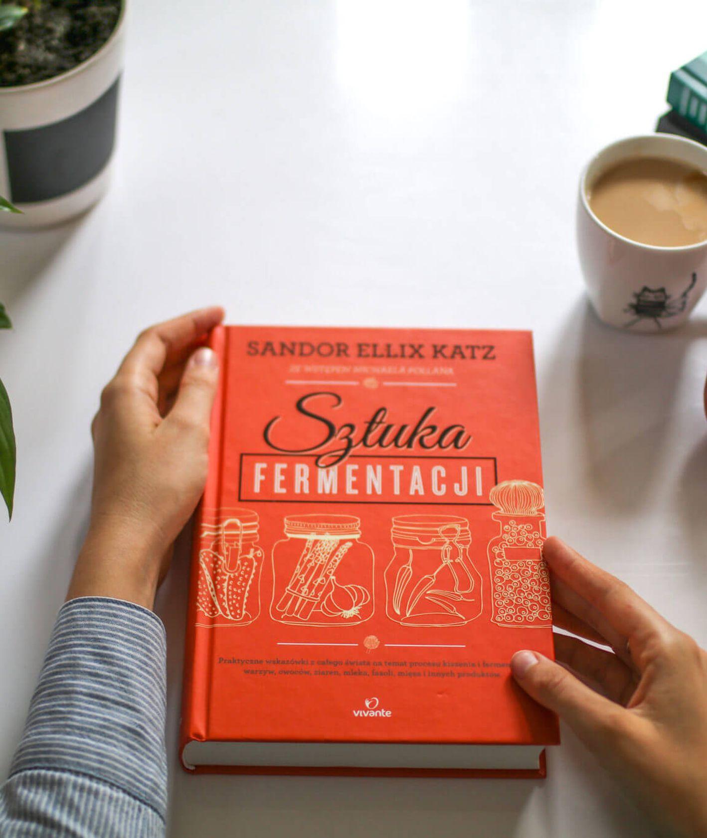 kiszonki, sztuka fermentacji, jak kisić, książki kukbuk, co czytać, książki kulinarne