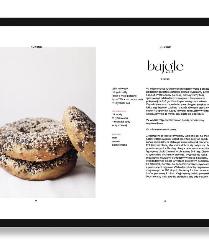 Ebook Na pikniku, kreatywne pomysły na bajgle