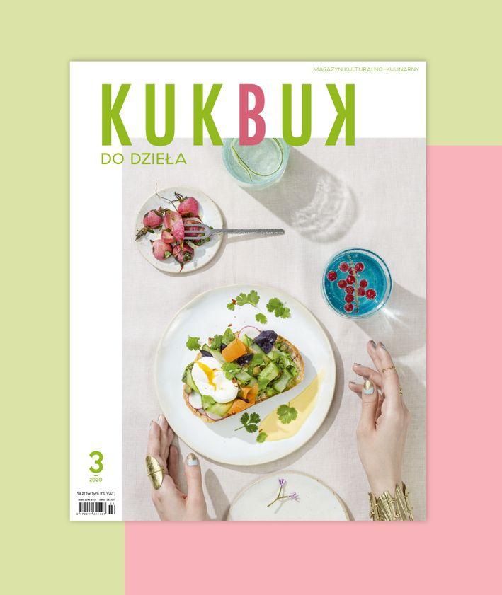Okładka magazynu KUKBUK nr 45 (3/2020) DO DZIEŁA maj-czerwiec