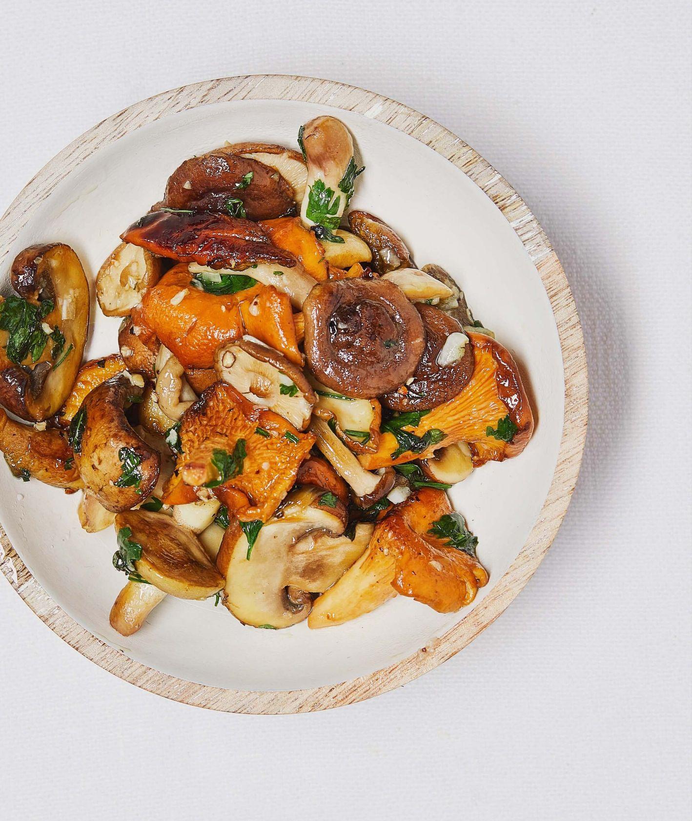 10 przepisów na dania z grzybami (fot. Maciek Niemojewski)