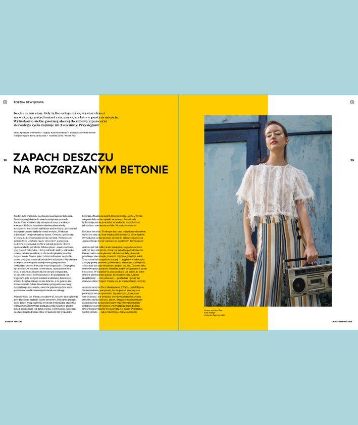 Magazyn KUKBUK NR 4 (46/2020) LATO W MIEŚCIE rozkład ścieżka dźwiękowa