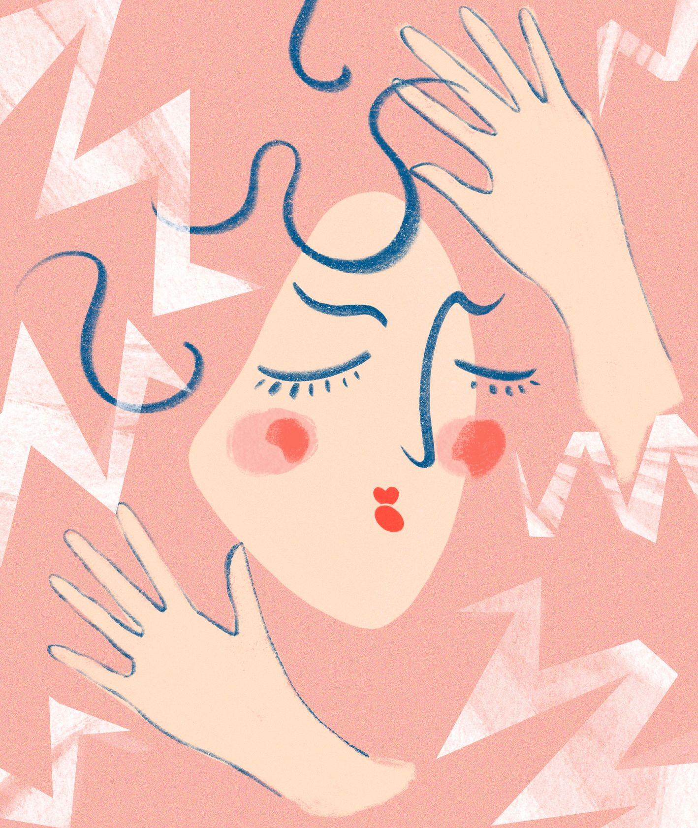 Stres a skóra otwarcie (il. Martyna Cybuch)