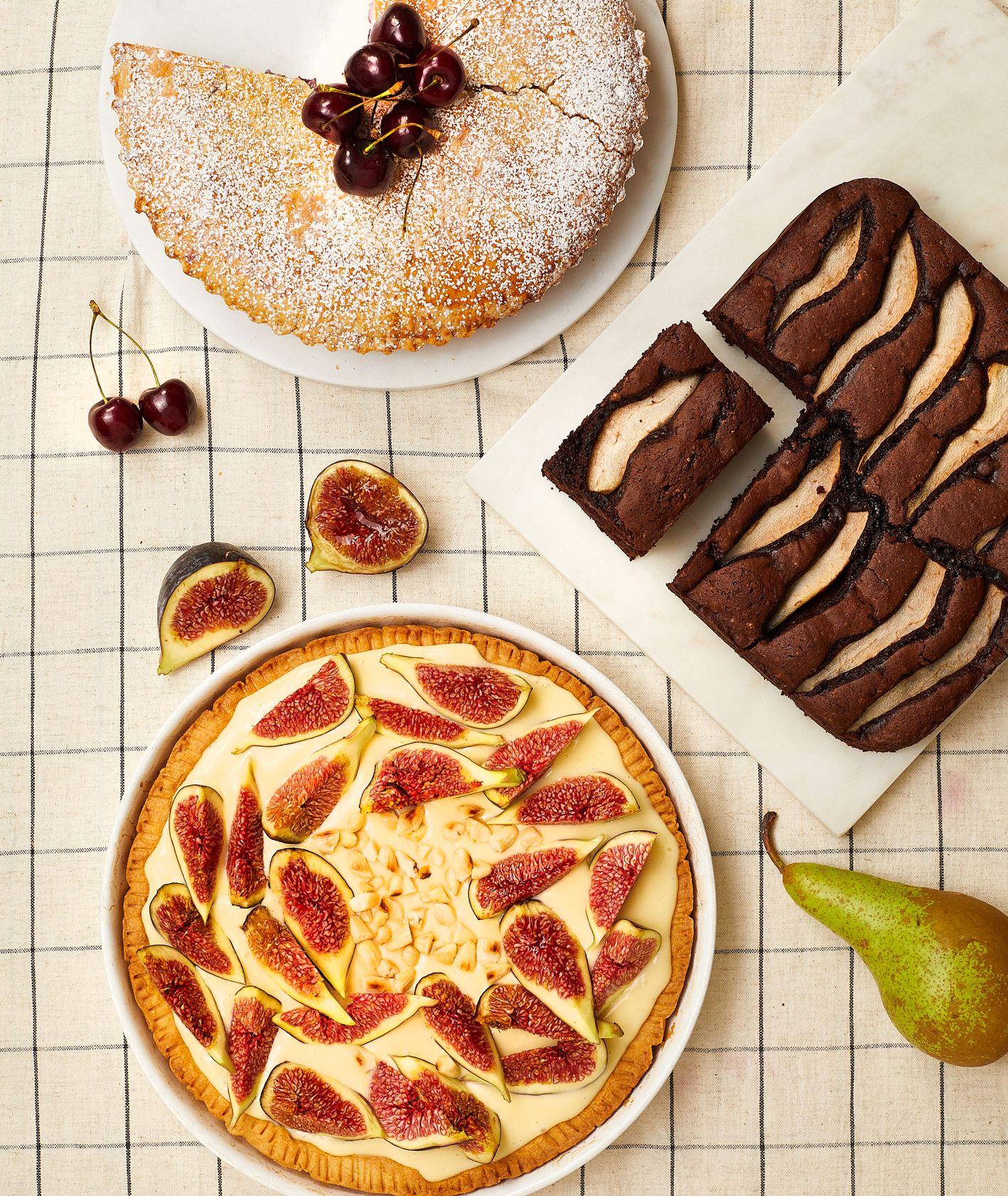 Włoska szkoła gotowania Cristiny Catese – ciasta z owocami. Przepisy na proste ciasta z owocami