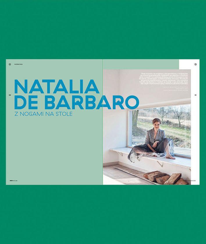 Rozkłady z magazynu KUKBUK 44/2020 Całe szczęście, wywiad z Natalią De Barbaro
