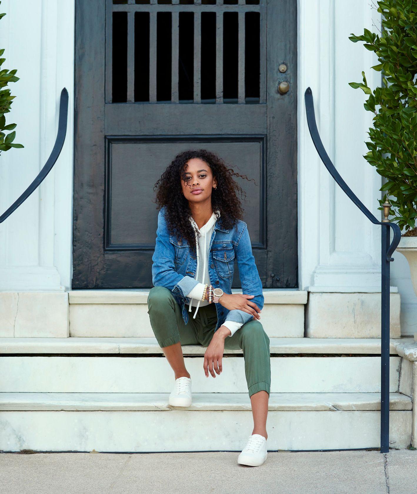 Kobieta na schodach - Garmin (fot. materiały prasowe)